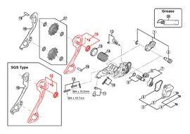 Shimano Caja Externa para Cambio XT M786