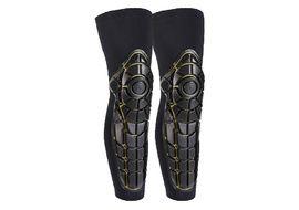 G-Form Rodilleras Pro X Combo Knee-Shin Pads Negro / Amarillo XS 2016