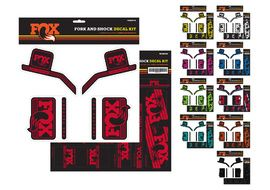 Fox Racing Shox Kit de pegatinas Heritage