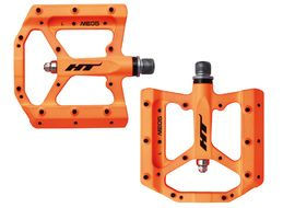 HT Components Pedales Evo ME05 Naranja 2019