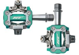 HT Components Pedales M1 Green Cyan 2019