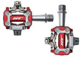 HT Components Pedales M1 Rojo 2019