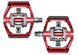 HT Components Pedales X2 Rojo
