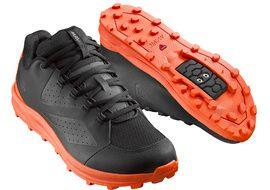 Mavic Zapatillas XA Negro y Naranja 2019