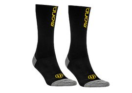 Mondraker Calcetines Altos Basic Negro y Amarillo