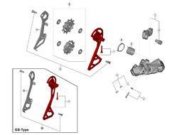 Shimano Caja externa para cambio Ultegra Di2 R8050