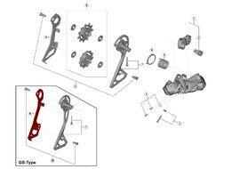 Shimano Caja interna para cambio Ultegra Di2 R8050