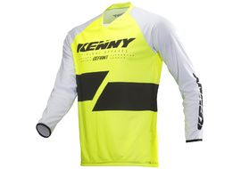 Kenny Maillot Defiant Amarillo Fluo 2019