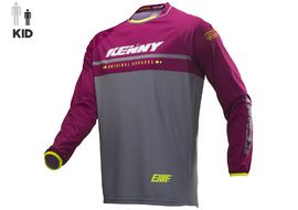 Kenny Maillot Elite Niño Burgundy 2019