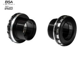 Black Bearing Pedalier BSA 68/73 B5 para eje 30 mm