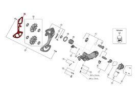 Shimano Caja Interna para Cambio XTR M9100