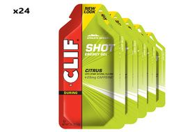 Clif Bar Caja de 24 geles energeticos sabor limón