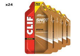 Clif Bar Caja de 24 geles energeticos sabor Moka