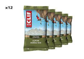 Clif Bar Caja de 12 barritas energeticas sabor Alpine Muesli