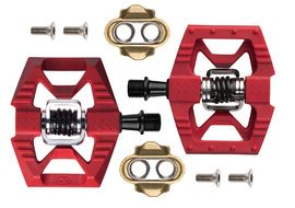 Crank Brothers Pedales Double Shot 1 Rojo 2021