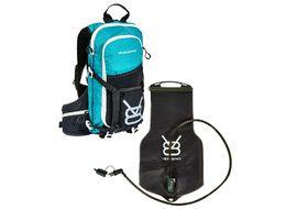 V8 Equipment Mochila de hidratación FRD 11.1 Negro / Azul con deposito Elite