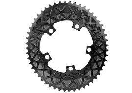 Absolute Black Plato Premium ovalado 110 mm 5 tornillos (no Sram) - Negro 2020