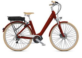 O2feel Bicicleta Electrica Swan D8 X Rojo - E5000 2020