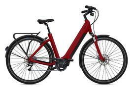 O2feel Bicicleta Electrica Iswan Tekking D9 Rojo - E6100 432Wh 2020