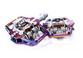 HT Components Pedales T1 Oil Slick 2020