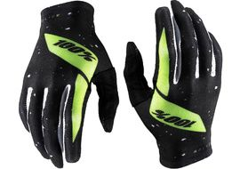 100% Guantes Celium Black/Fluo Yellow 2020