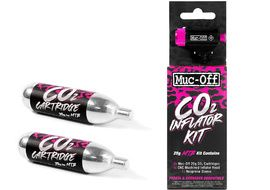 Muc-Off Inflador CO2 con 2 cartuchos