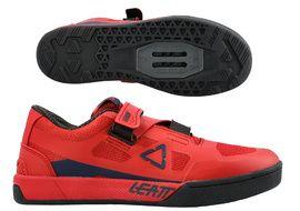 Leatt Zapatillas 5.0 Clip Rojo Chilli 2021