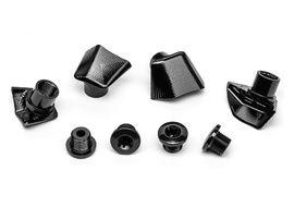 Absolute Black Kit de 4 tornillos y tapas para bielas Dura-Ace 9000 2020
