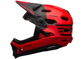 Bell Casco Super DH MIPS Rojo / Negro Fasthouse 2022
