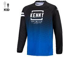Kenny Maillot Elite Niño Blue Black 2021