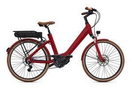 "O2feel Bicicleta Electrica Swan Little N8 Rojo - E5000 400 Wh 24"" 2020"