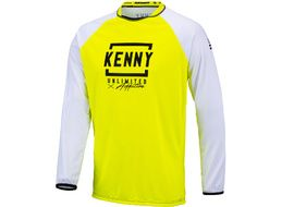 Kenny Maillot Defiant Blanco Amarillo Fluo 2021