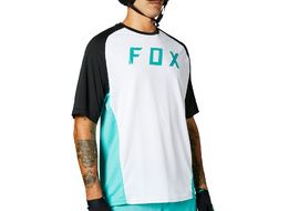 Fox Maillot Defend Mangas Cortas Teal 2021
