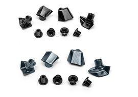 Absolute Black Kit de 4 tornillos y tapas para bielas Dura-Ace 9100 y 9150 2020