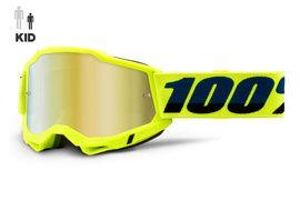 100% Gafas Accuri 2 Infantil Amarillo Fluo 2021