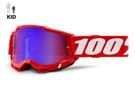 100% Gafas Accuri 2 Infantil Rojo 2021