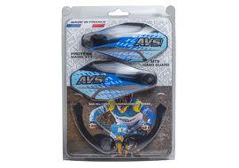 AVS Protectores de Mano con pata aluminio - Negro / Azul
