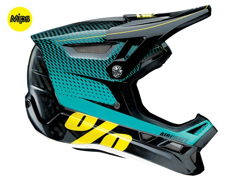 100% Casco Aircraft MIPS R-Core Teal 2017
