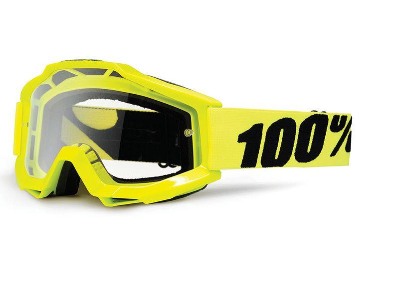 100% Gafas Accuri Amarillo fluo 2018