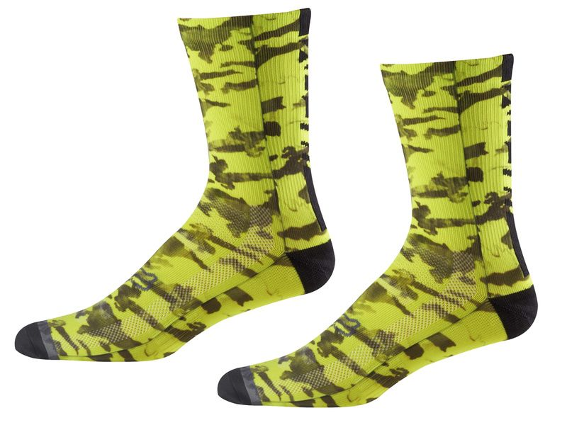Fox Calcetines Creo Trail 8'' Amarillo fluo 2018