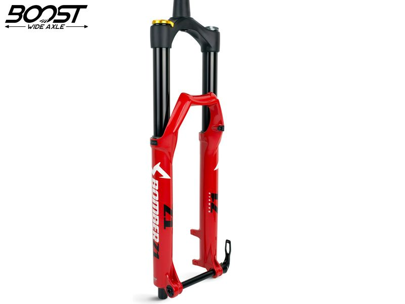 "Marzocchi Horquilla Bomber Z1 27.5"" Grip Sweep Adjust 180 mm - 15x110 Boost - Rojo 2020"