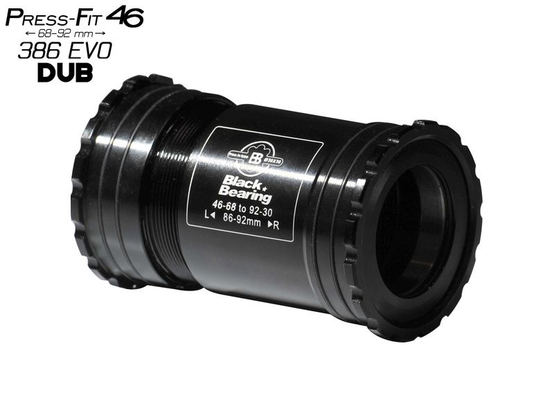 Black Bearing Pedalier PF46 68/92 B5 para eje DUB (28,99 mm)