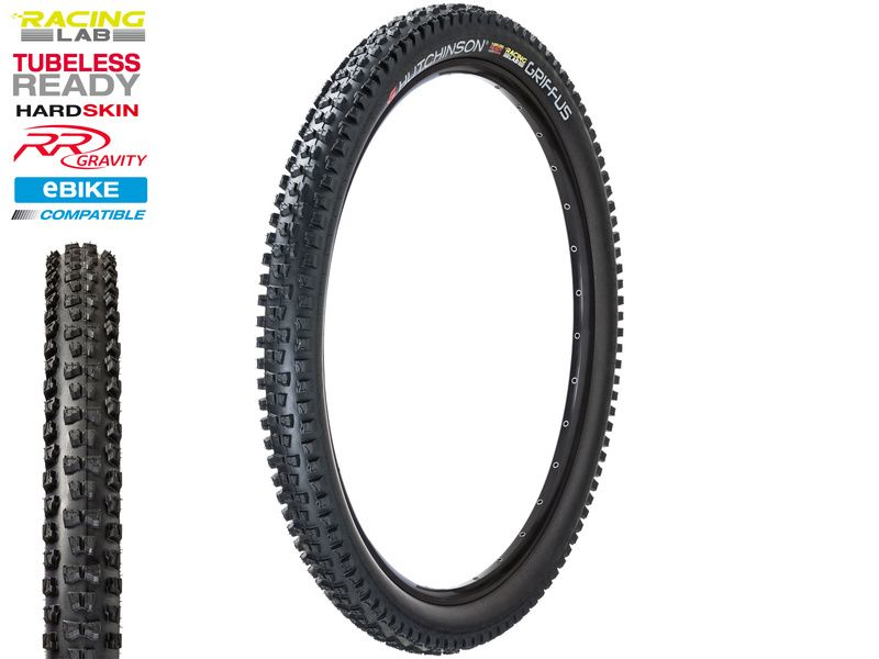Hutchinson Cubierta Griffus Racing Lab Tubeless Ready Hardskin 29'' Negro 2019