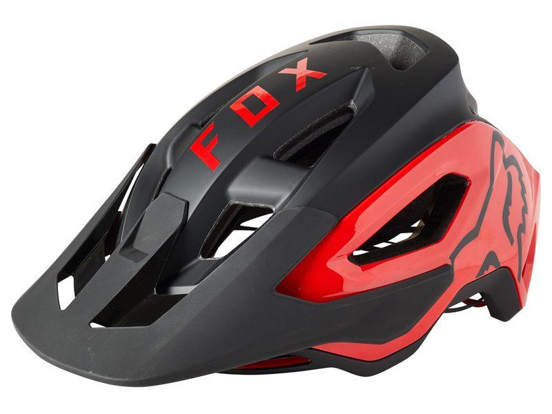 Fox Casco Speedframe Pro Negro y Rojo 2021
